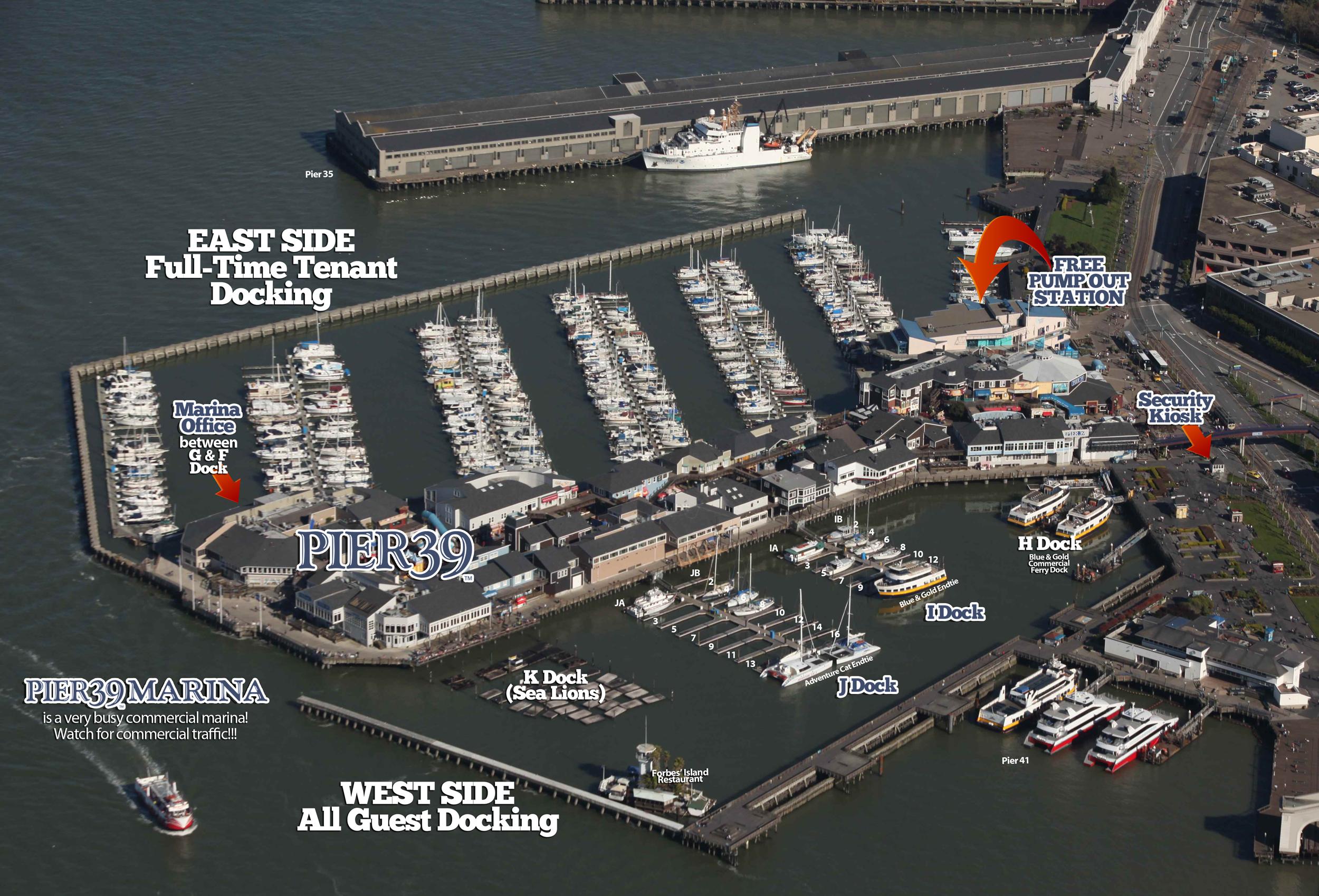 MapsDirections  Pier 39 Marina